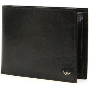 Golden Head Colorado Brieftasche Leder schwarz 9,5 cm