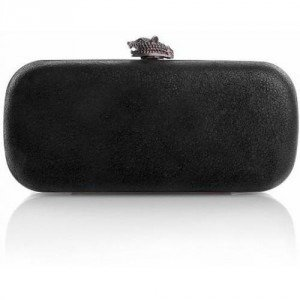House of Harlow Addison Distressed Leather Black