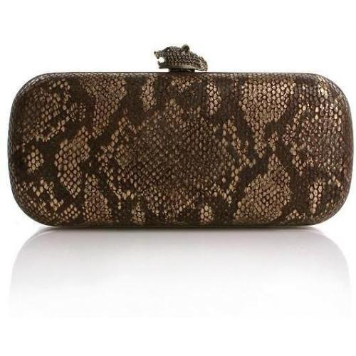 House of Harlow Addison Snake Gold Brown