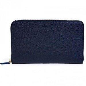 Jil Sander Ink Leather Travel Wallet