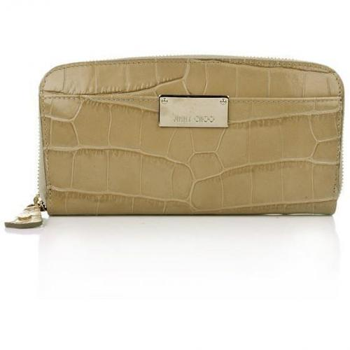 Jimmy Choo Rush Moc Wallet Nude