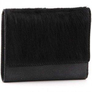 Jost Die Kuh Elsa Geldbörse Leder schwarz 12,5 cm