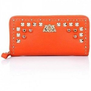 Juicy Couture Tough Girl Wallet Orange
