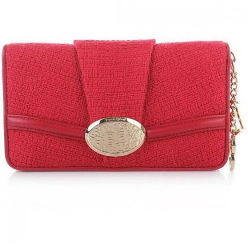 Lancel Brigitte Bardot Wallet Red