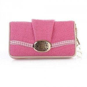 Lancel Brigitte Bardot Wallet Rose