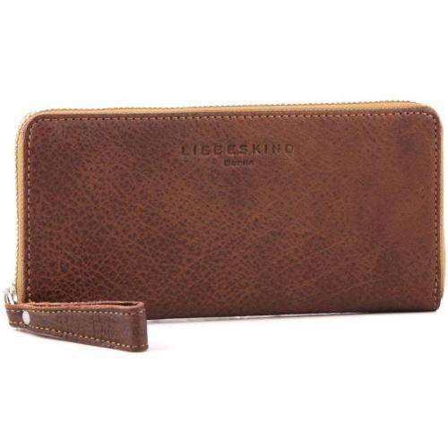 Liebeskind 2D Leather Sally Geldbörse Damen beige 20 cm