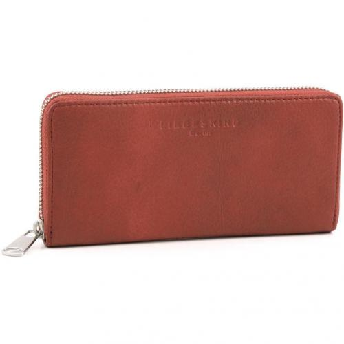 Liebeskind 2D Leather Sally Geldbörse Damen orange 20 cm