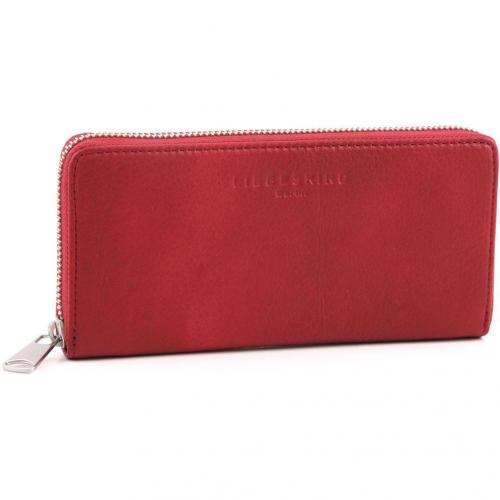 Liebeskind 2D Leather Sally Geldbörse Damen pink 20 cm