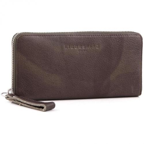 Liebeskind 2D Leather Sally Geldbörse Damen taupe 20 cm