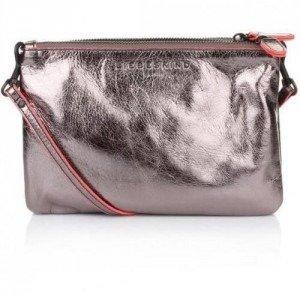 Liebeskind Celia Metallic Leather Grey