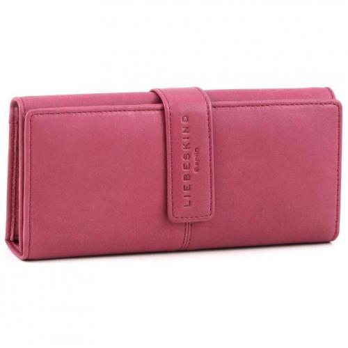 Liebeskind Pull Up Leather Leonie Geldbörse Damen Leder violett 19,5 cm