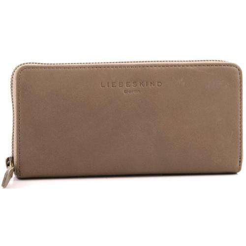 Liebeskind Pull Up Leather Sally Geldbörse Damen hellbraun 18,5 cm