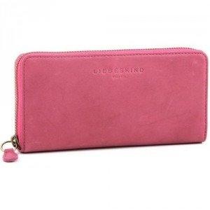 Liebeskind Pull Up Leather Sally Geldbörse Damen Leder violett 18,5 cm