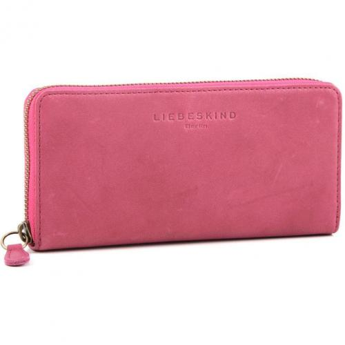 Liebeskind Pull Up Leather Sally Geldbörse Damen Leder violett 18,5 cm