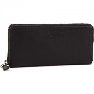 Liebeskind Pull Up Leather Sally Geldbörse Damen schwarz 18,5 cm