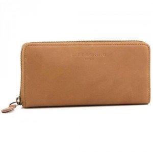 Liebeskind Pull Up Leather Sally Geldbörse Damen whisky 18,5 cm
