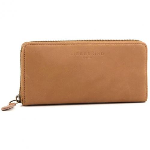 Liebeskind Pull Up Leather Sally Geldbörse Damen whisky 18,5 cm
