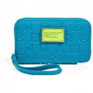 Marc by Marc Jacobs Atomic Blue Neoprene Wingman Wallet