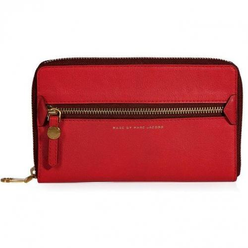 Marc by Marc Jacobs Rock Lobster Leather Travel Wallet