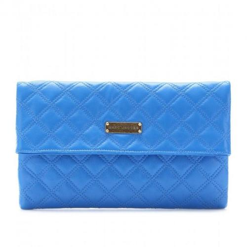 Marc Jacobs Large Eugenie Clutch sky blue