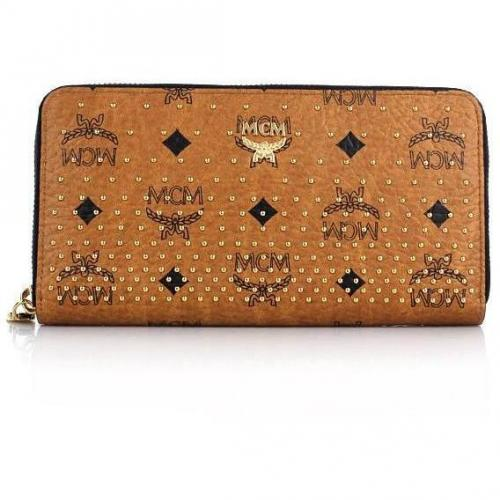 MCM Shopper Project Zip Wallet Large 3