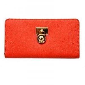 Michael Michael Kors Brieftasche mit Reißverschluss aus Saffianoleder