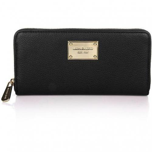 MICHAEL Michael Kors Jet Set ZA Continental NS Black