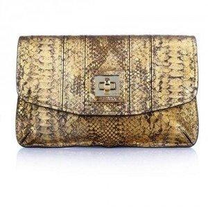 Milly Alexa Envelope Clutch Gold