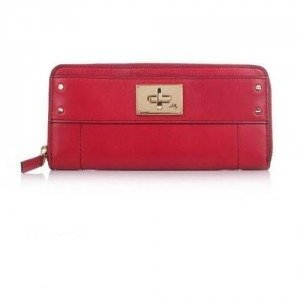 Milly Amelia Zip Around Wallet Garnet