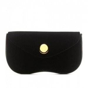 Miu Miu Samtclutch black