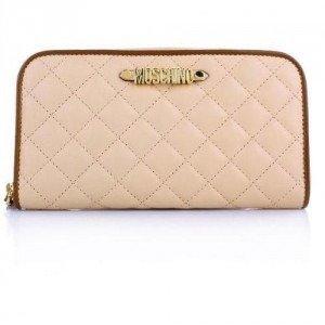 Moschino Brieftasche Nude/ Brown