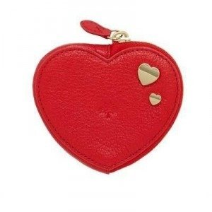 Mulberry Valentine'S Heart Geldbörse aus Leder