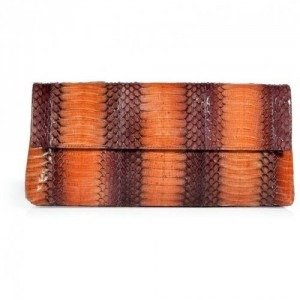 Nancy Gonzalez Fire Opal Cobra Clutch