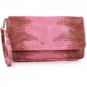 NMBR NINE Liss Bag Lizard Pink