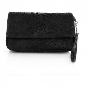 NMBR NINE Liss Bag Python Black