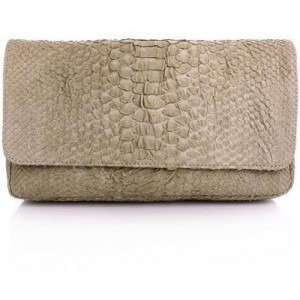 NMBR NINE Liss Bag Python Light Grey