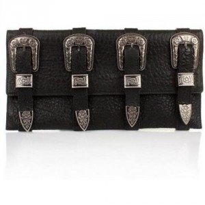 Philipp Plein Clutch Van Gogh Black