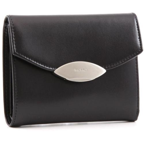 Picard Basic Lounge Geldbörse Damen schwarz 13 cm