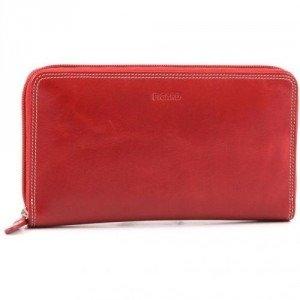 Picard Porto Geldbörse Damen Leder rot 19 cm