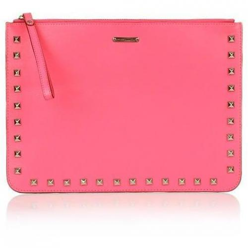 Rebecca Minkoff Lisa Pouch with Studs Bubblegum