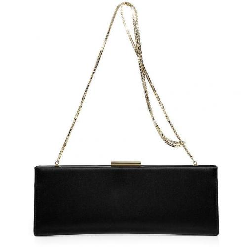 Salvatore Ferragamo Black Long Clutch