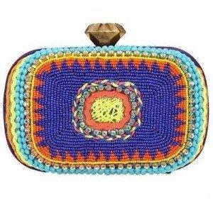 Sarah'S Bag Summer Twist Eckige Clutch