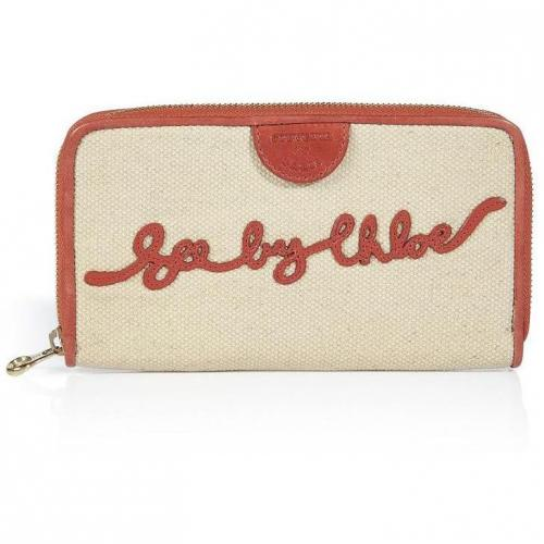 See by Chloé Pearly Signature Wallet