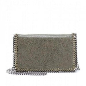 Stella McCartney Falabella Shaggy Deer Mini Schultertasche