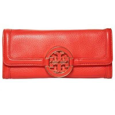 Tory Burch Amanda Leder Continental Brieftasche