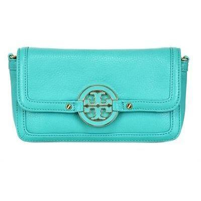 Tory Burch Amanda Mini Clutch aus Nappaleder