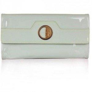 Versace Collection Pochette Vernice Mint