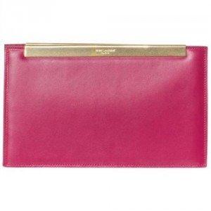 Yves Saint Laurent Clutch pink