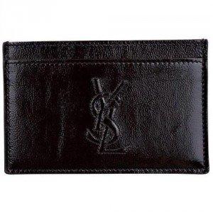 Yves Saint Laurent Kreditkarten-Etui schwarz