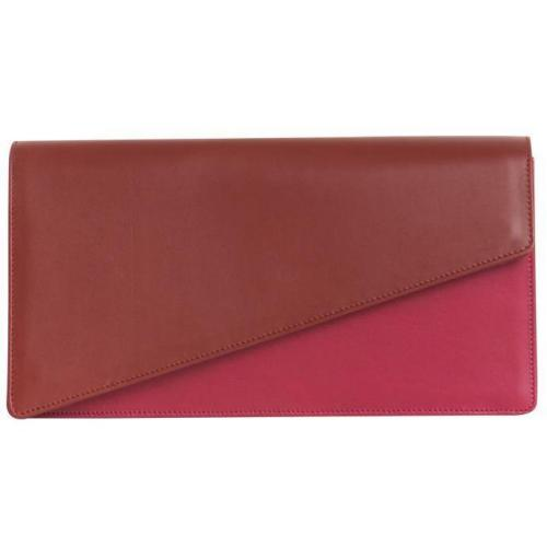 Yves Saint Laurent Lederclutch pink